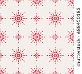 seamless christmas pattern with ... | Shutterstock .eps vector #688450183