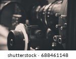 detail of video camera   film... | Shutterstock . vector #688461148