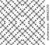 design seamless monochrome... | Shutterstock .eps vector #688462150