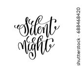 silent night hand lettering...