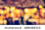 abstract blurred colurful bokeh ... | Shutterstock . vector #688488310