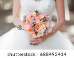 bouquet  wedding flower  | Shutterstock . vector #688492414