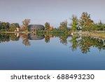 capi hnizdo    the stork s nest ... | Shutterstock . vector #688493230