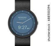 smart watch interface template. ...   Shutterstock .eps vector #688500394