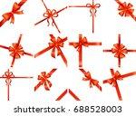 card illustration on white... | Shutterstock . vector #688528003