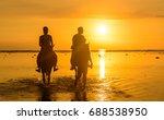 gili tranwagan  lombok... | Shutterstock . vector #688538950