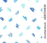 free hand drawn diagonal scrawl ... | Shutterstock .eps vector #688550830
