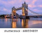 Tower Bridge In London  Uk ...