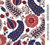 ecoration curl illustration.... | Shutterstock .eps vector #688560604