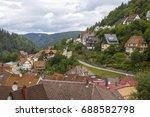 view of triberg im schwarzwald...   Shutterstock . vector #688582798