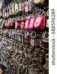 souvenirs | Shutterstock . vector #688596289