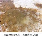 salt eyes of uyuni salt lake   Shutterstock . vector #688621900
