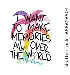 vector print design   t shirt...   Shutterstock .eps vector #688626904