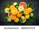 Fresh Citrus Fruit Assortment....
