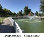 kentpark  sakarya  turkey....   Shutterstock . vector #688664350