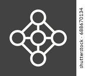 deep learning | Shutterstock .eps vector #688670134