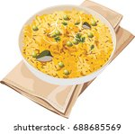 vector illustration of poha... | Shutterstock .eps vector #688685569