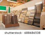 assortment of laminated... | Shutterstock . vector #688686538
