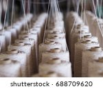 textile threads industry | Shutterstock . vector #688709620