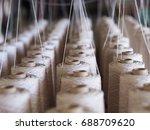 textile threads industry   Shutterstock . vector #688709620