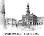 zamosc   Shutterstock . vector #688716253