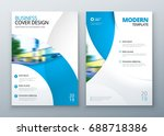 brochure template layout design.... | Shutterstock .eps vector #688718386