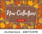 new collection vector... | Shutterstock .eps vector #688733398