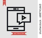 smartphone vector icon ...