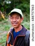 luang prabang  laos    may 2017 ... | Shutterstock . vector #688757863