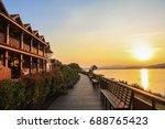 Sunset At Chiang Khan