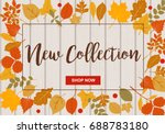 new collection vector... | Shutterstock .eps vector #688783180
