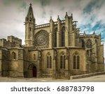 the basilica of saints nazarius ...   Shutterstock . vector #688783798