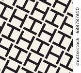 vector seamless pattern. modern ... | Shutterstock .eps vector #688787650