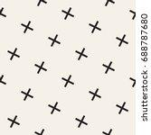 vector seamless pattern.... | Shutterstock .eps vector #688787680