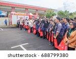 muadzam shah  malaysia august... | Shutterstock . vector #688799380