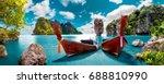 scenic landscape.phuket... | Shutterstock . vector #688810990