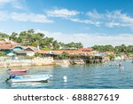 arcachon bay  france   view... | Shutterstock . vector #688827619