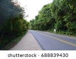 pattaya rood on mountain view | Shutterstock . vector #688839430