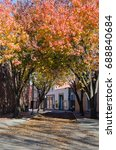Small photo of Fayetteville, NC in fall