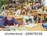 18 february 2015  russia ... | Shutterstock . vector #688878538