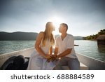 holidays  vacation  love and... | Shutterstock . vector #688884589