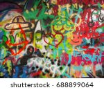 Graffiti wall Miscellaneous art