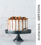 Wedding Cake With Blueberries ...