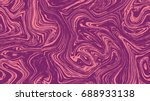 marble pattern seamless texture ... | Shutterstock .eps vector #688933138