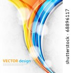 bright abstract design | Shutterstock .eps vector #68896117