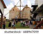 waco  texas   july 21  2017 ... | Shutterstock . vector #688967059