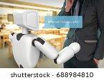 artificial intelligence   ai... | Shutterstock . vector #688984810