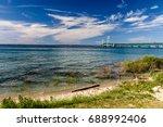 Lake Michigan Beach And...