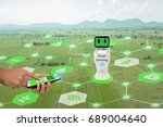 iot  internet of things... | Shutterstock . vector #689004640
