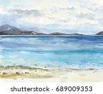 Sea Landscape. Beautiful...